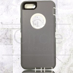 Picture of Defender Hybrid Case w/Clip (Gray/White) - iPhone 6 / 6S