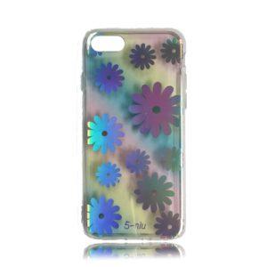 iPhone 8 TPU Design Case Flowers