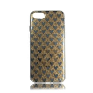 iPhone 8 TPU Design Case Hearts