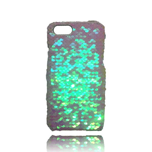 wholesale dealer 0678b a121c Sequin Flip Case - White - iPhone 8 Plus / 7 Plus / 6S Plus / 6 Plus