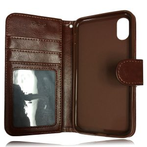 Leather Wallet Flip Case