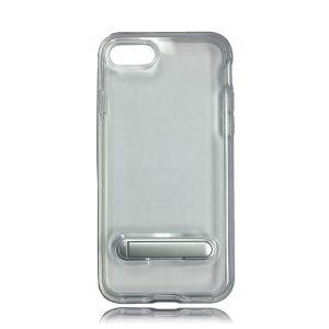 Transparent Bumper Style Case w/ Kickstand