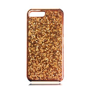 iPhone 8 Plus Dual Layer Glitter Rubber Case