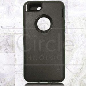 Picture of Defender Hybrid Case w/Clip (Black/Black) - iPhone 7