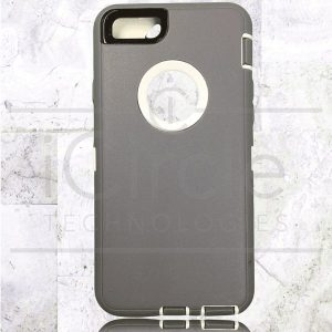 Picture of Defender Hybrid Case w/Clip (Gray/White) - iPhone 7