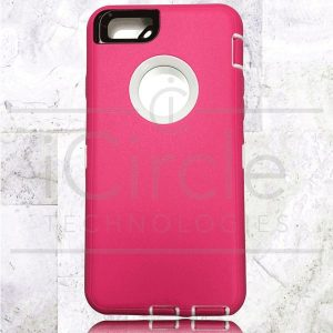 Picture of Defender Hybrid Case w/Clip (Pink/White) - iPhone 7