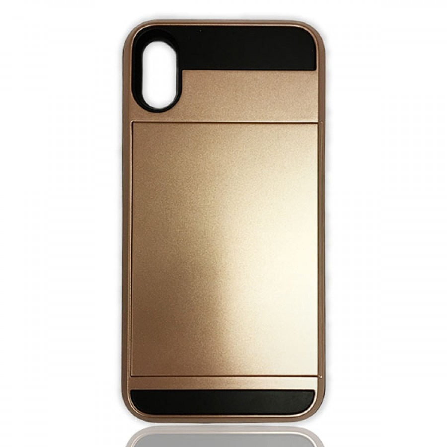 Card Holding Case Rose Gold Iphone X Icircle Technologies