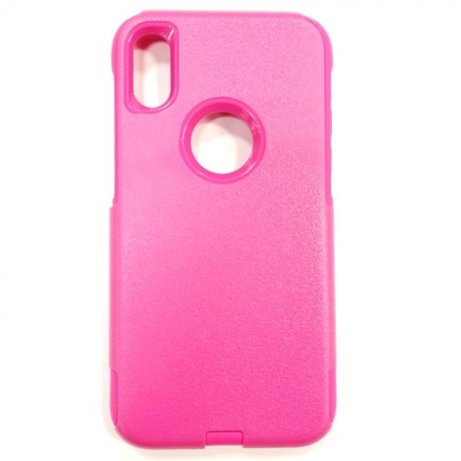 the latest 92f14 c1273 iPhone X/Xs Hybrid Case HOT PINK/HOT PINK
