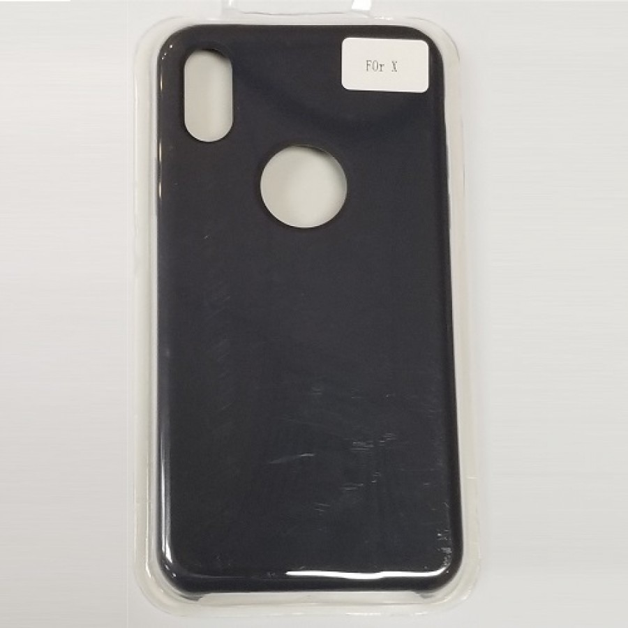 pretty nice 8f64e 418d4 iPhone X/Xs Liquid Silicone Gel Rubber Shockproof Case MIDNIGHT BLUE