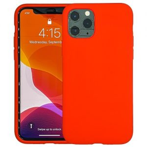 IPHONE-11-CASE-SILICONE-RED-0