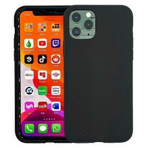 IPHONE-11-PRO-CASE-SILICONE-BLACK-0