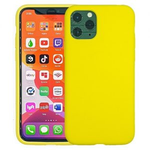 IPHONE-11-PRO-CASE-SILICONE-YELLOW-0
