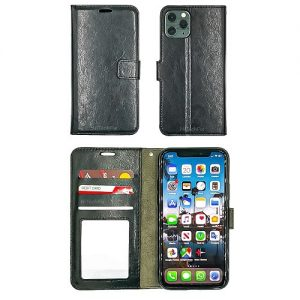 IPHONE-11-WALLET-FLIP-BLACK-0