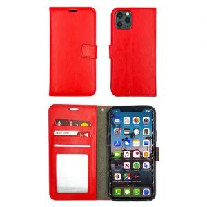 IPHONE-11-WALLET-FLIP-RED-0